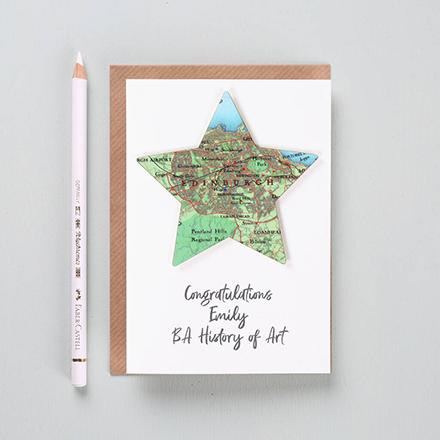 Personalised graduation cards