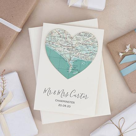 Personalised wedding cards