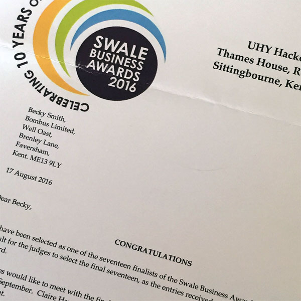 Why we enter the Swale Business Awards