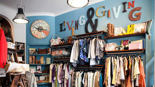 Mary's Living and Giving Shop for Save the Children