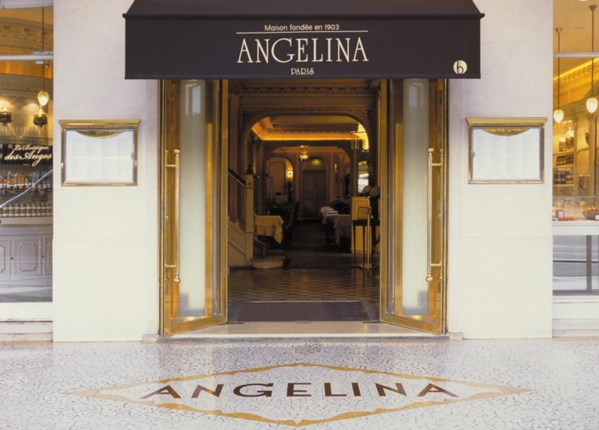 Angelina's in Paris