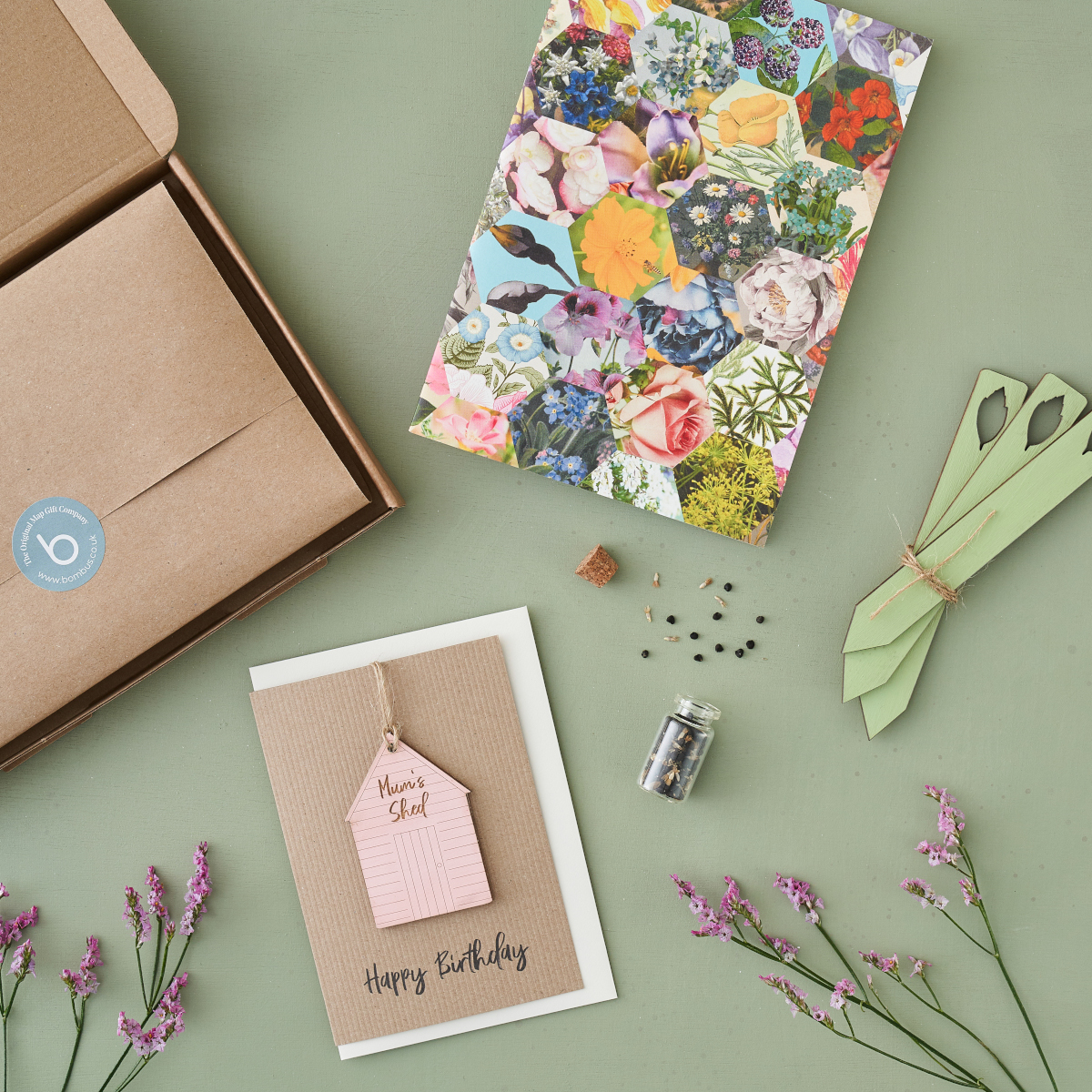 Letterbox Gift for Gardeners from the Bombus range of Thinking of You Gifts