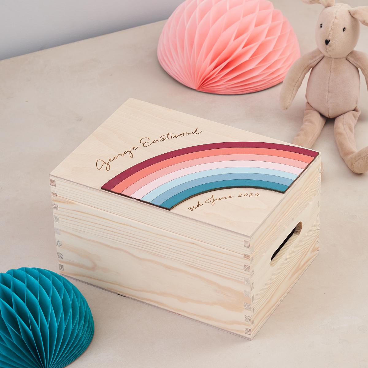 New Baby Keepsake Box Nursery Decoration