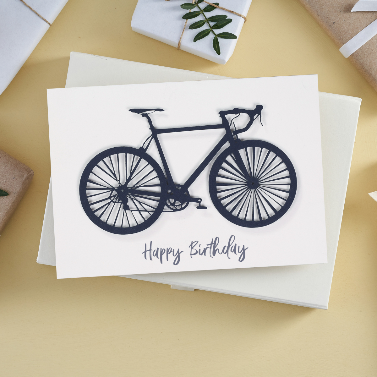 Personalised bike card, perfect gift for cyclists