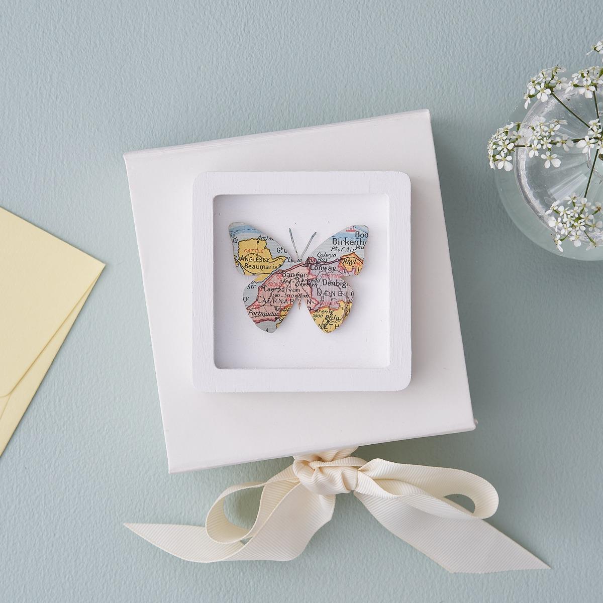 Miniature Butterfly Frame