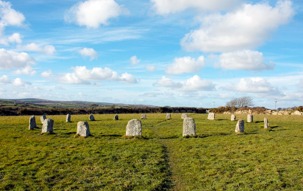 The Merry Maidens in Cornwall