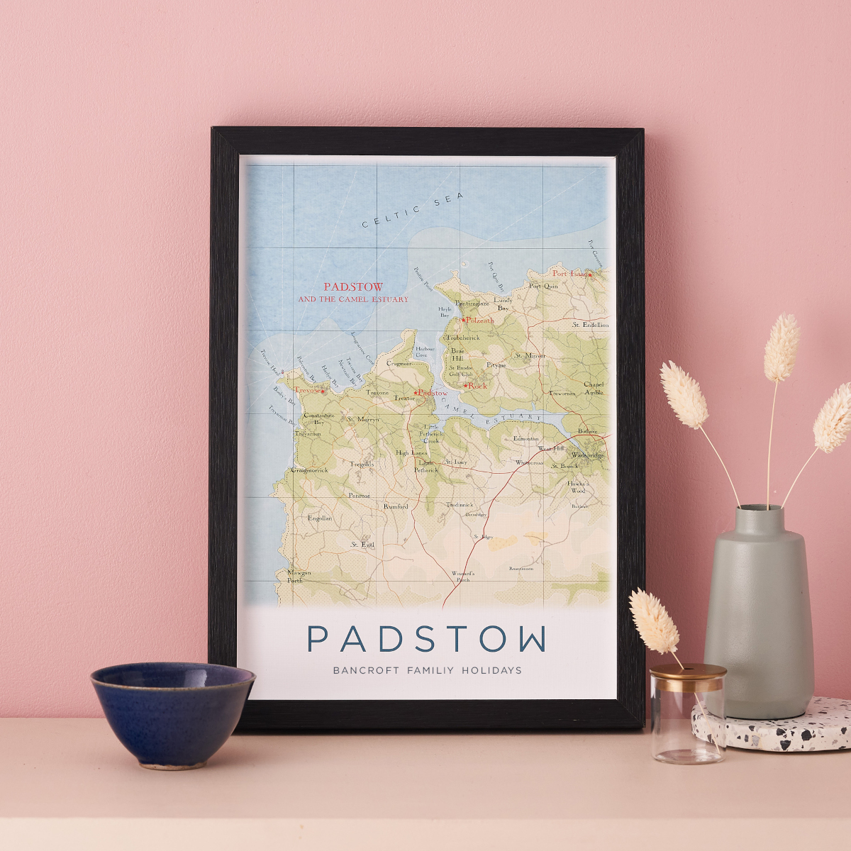Map of Padstow - the location for a lot of people moving to a new home in 2021