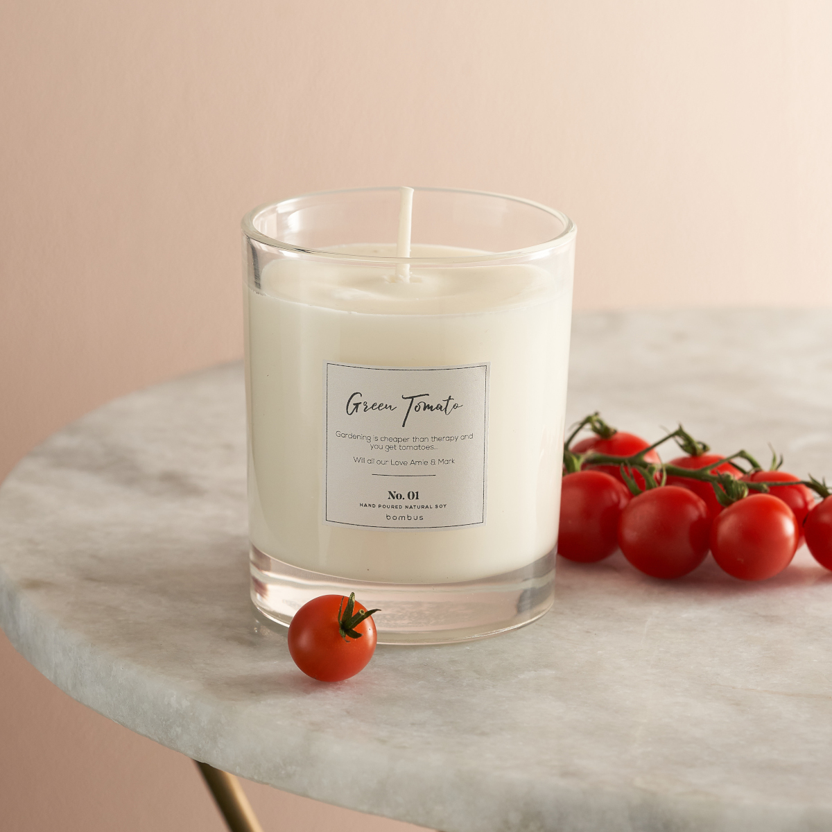 Freen tomato candle